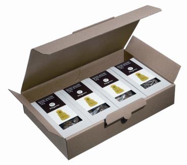 Trockenpilze in Kleinverpackungen mit Umkarton
