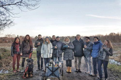 Pilzgarten Team Kohltour 2019